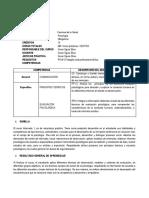 Silabo Internado-1 Psicología Semestre 2020-1 Cientifica
