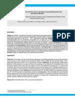 Analisis de La Poblacion Del Peru en Losreportes de Competitividad Del Foro Economico Mundial
