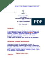 psychologie 2eme LFEP