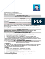 CV FOR INSTRUMENT TECHNITION
