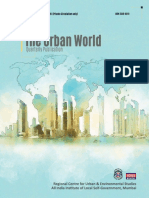 The Urban World Vol. 12, No. 3, July Sept 2019