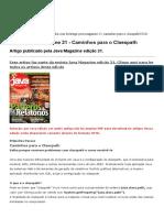 Artigo Java Magazine 21 - Caminhos para o Classpath