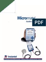 721u0201fr Rev 06 - Micromate Operator Manual