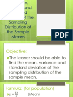 lesson-11-Mean-Variance-and-Standard-Deviation-of-the-Sampling-Distribution-of-the-Sample-Mean