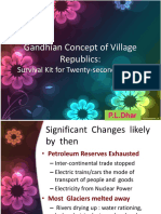 Gandhian Concept Village Republics