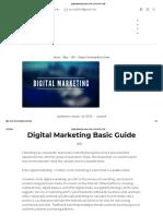 Digital Marketing Basic Guide _ SAUKRIT.com