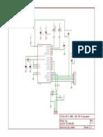 AVR and 8051 USB ISP Programmer Circuit Diagram