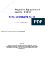 Composites Recycling Module