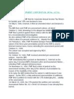 CIR v. FMF DEVELOPMENT CORPORATION, GR No. 167765, 2008-06-30
