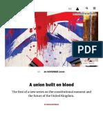 David Reynolds - A union built on blood