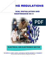 electrical installation and maintenance nc ii