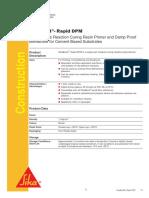 SikaBond Rapid DPM PDS