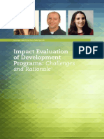 IEM_-_Impact_Evaluation_of_Development_Programs-_Challenges_and_Rationale