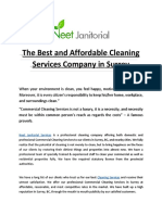 The Best and Affordable Cleaning Services Company in Surrey