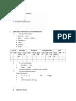 Format analisa