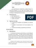 PROJECT FEASIILITY STUDIES.docx