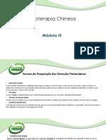 Slide- Módulo III- Fitoterapia- Profa Ana