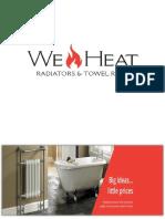 WeHeat Radiators & Towel Rails