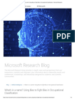 What's in a name_ Using Bias to Fight Bias in Occupational Classification - Microsoft Research
