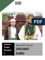 Sholawat Kubro Final