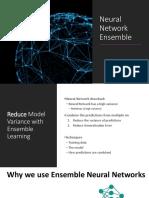 Neural Network Ensemble 정리 자료