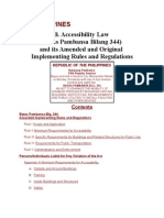 Accessibility Law (BP 344)