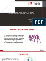estudio organizacionales y legal