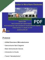 Introduction to Micro/Nano Electronics