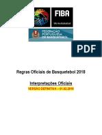 Interpretações 2019 - Regras Basquetebol