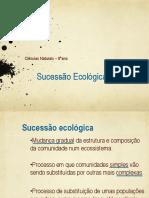 Sucessão Ecológica-powerpoint