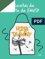 livro de receitas da horta da FMUSP