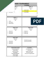 Icebracker Schedule 2009