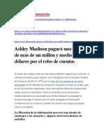 CASO ASHLEY MADISON