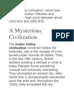 indus valley civilization.docx