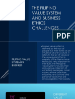The filipino value system and business ethics Challenges