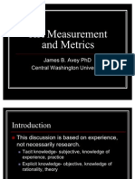 HR Measurement and Metrics
