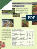 """Vegetalisation_extensive_des_toitures_Système """"Steinrosenflur"""""""