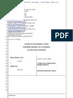 Omni Medsci, Inc v Apple, Patent Infringement