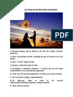 99 CONSEJOS PARA UN MATRIMONIO DURADERO