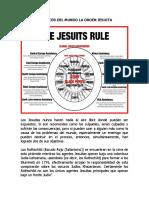 EL CÁNCER DEL MUNDO LA ORDEN JESUITA