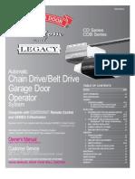 Legacy Garage Door Opener
