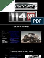 material compartir Freightliner automático