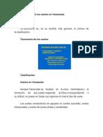 Taxonomía de los suelos en Venezuela
