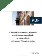 Caderno Dos Direitos de Personalidade e Liberdade de Imprensa