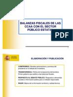Balances fiscals 2005 govern espanyol