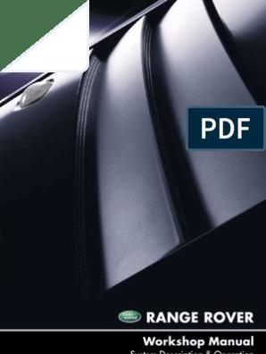 Workshop Manual L322 Range Rover | Piston | Internal