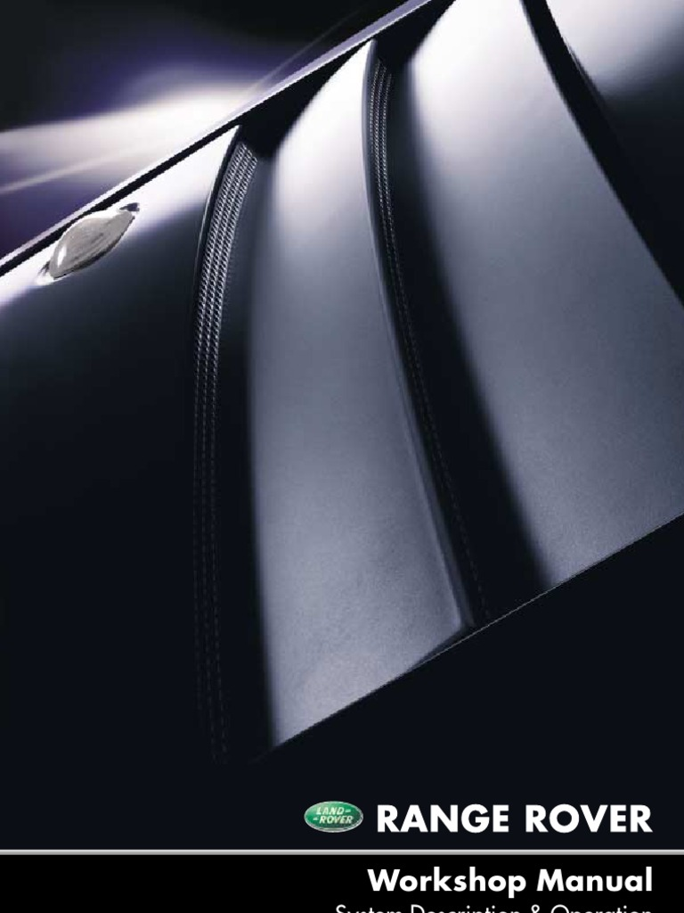 Workshop Manual L322 Range Rover | Piston | Internal Combustion Engine