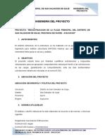 INGENIERIA DEL PROYECTO losa