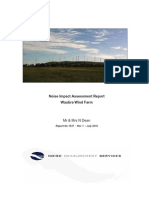 The Dean Waubra Wind Farm Report July 20101