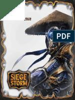 Siegestorm Rule Book